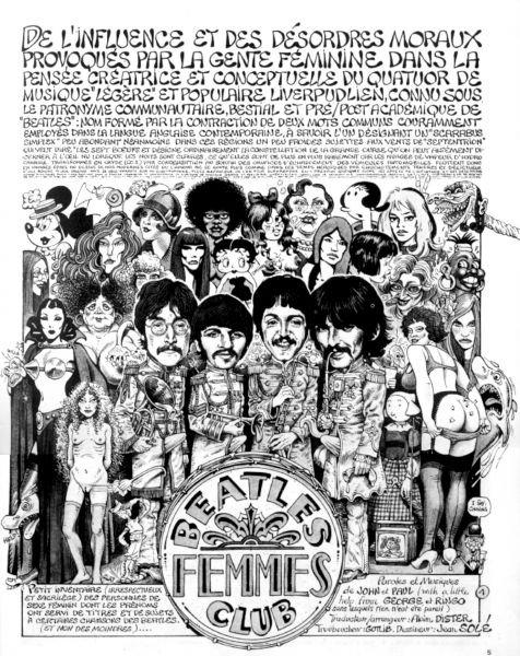 Gotlib Beatlesfemmesclub
